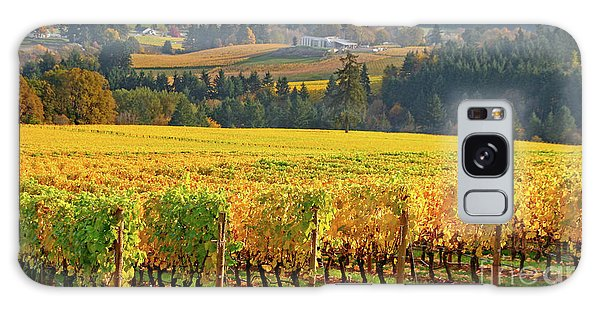 Autumn In Oregon Wine Country Galaxy Case