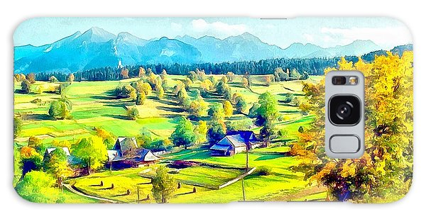 Autumn In Poland Galaxy Case by Maciek Froncisz