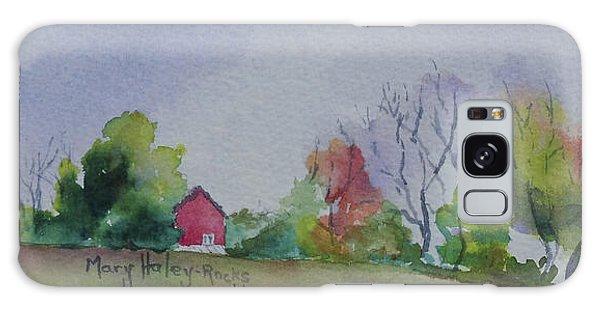 Autumn In Rural Ohio Galaxy Case