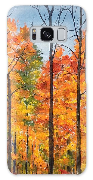 Autumn In South Wales Ny Galaxy Case by Ellen Canfield