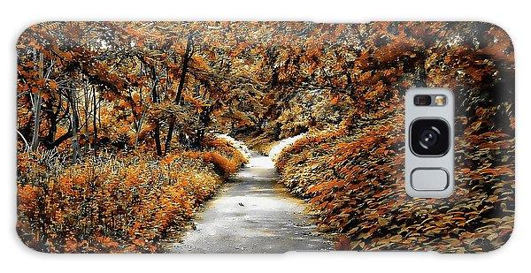 Autumn In Stamford Galaxy Case