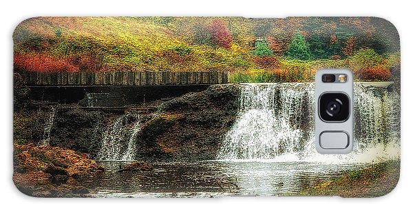 Autumn In The Blue Ridge Mountains Galaxy Case