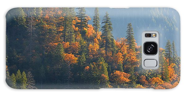 Autumn In The Feather River Canyon Galaxy Case