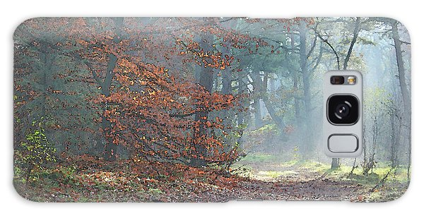 Autumn In The Forest, Painting Like Photograph Galaxy Case