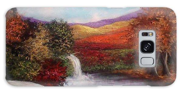 Autumn In The Garden Of Eden Galaxy Case by Randy Burns
