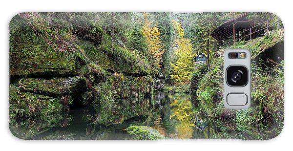 Autumn In The Kamnitz Gorge Galaxy Case