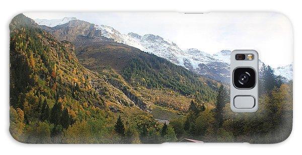 Autumn In The Lauterbrunnen Valley, Switzerland Galaxy Case