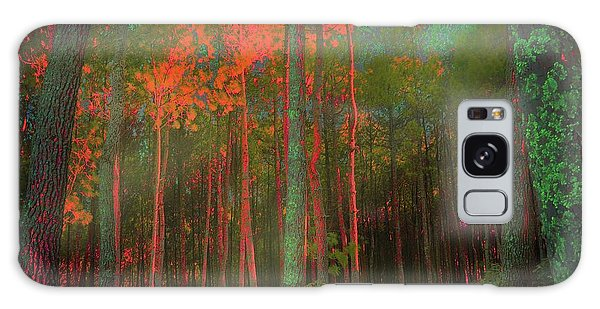 Autumn In The Magic Forest Galaxy Case by Mimulux patricia no No