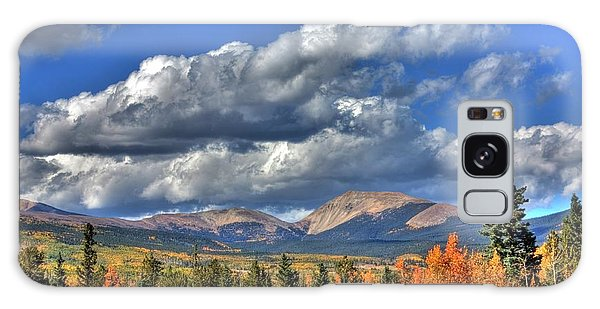 Autumn In The Rockies Galaxy Case