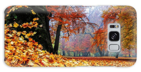 Autumn In The Woodland Galaxy Case