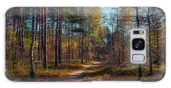 Autumn In The Woods Galaxy Case