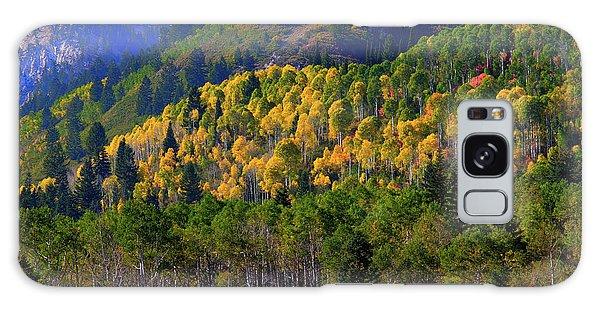 Autumn In Utah Galaxy Case