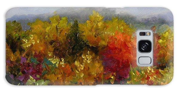 Autumn Jewels Galaxy Case by Chris Brandley
