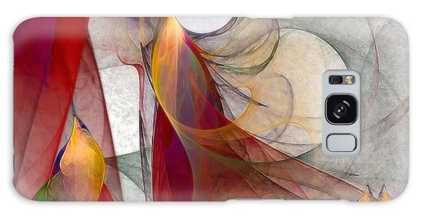 Abstract Expressionism Galaxy Case - Autumn by Karin Kuhlmann