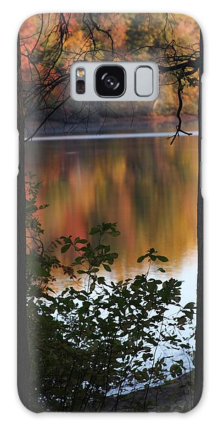 Galaxy Case featuring the photograph Autumn Lake by Vadim Levin