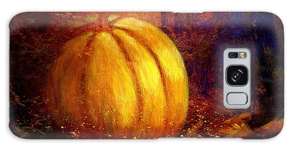 Autumn Landscape Painting Galaxy Case