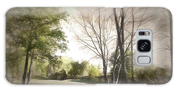 Autumn Landscape Galaxy Case by Rena Trepanier