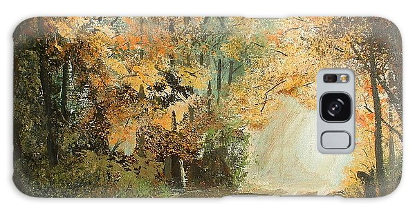 Autumn Lane Galaxy Case