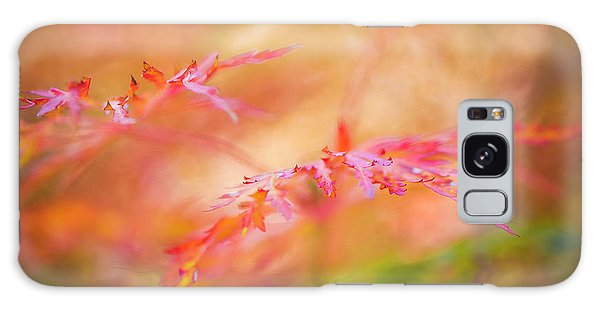 Autumn Leaf Abstract Galaxy Case