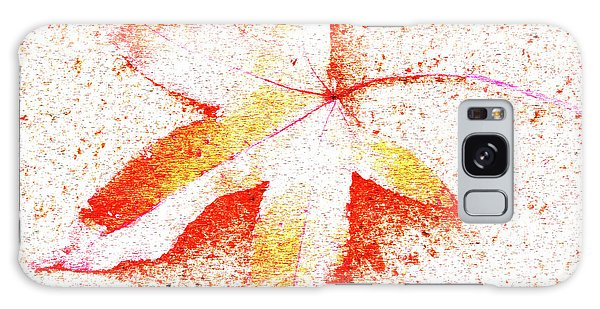 Autumn Leaf Art Galaxy Case
