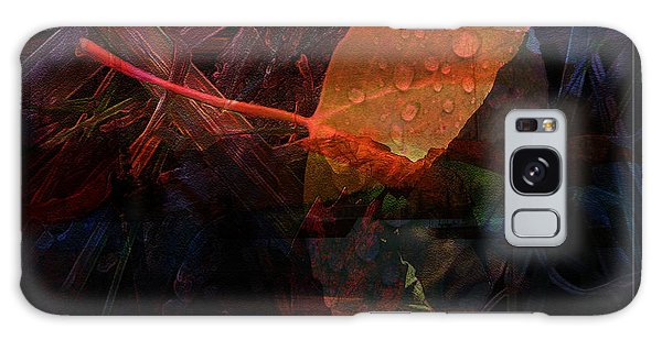 Autumn Leaf Galaxy Case by Stuart Turnbull