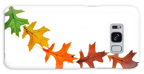 Autumn Leaves 1 Galaxy Case