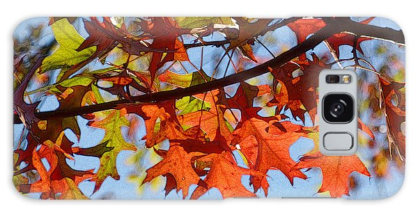 Autumn Leaves 16 Galaxy Case by Jean Bernard Roussilhe