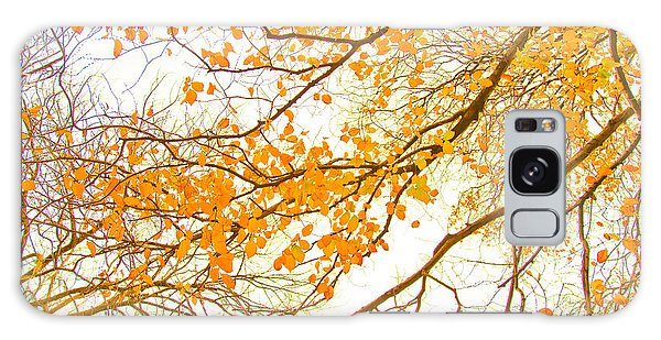 Calendar Galaxy Case - Autumn Leaves by Az Jackson