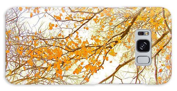 March Galaxy Case - Autumn Leaves by Az Jackson