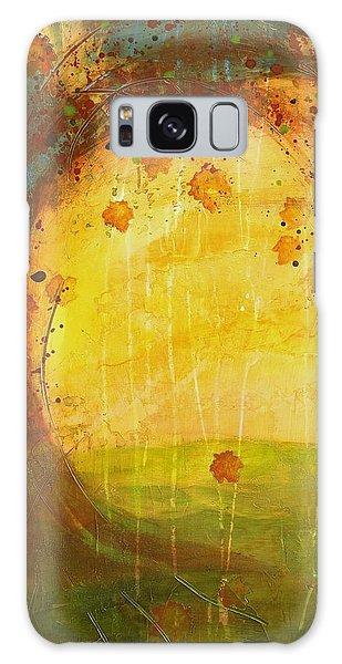 Autumn Leaves - Tree Series Galaxy Case