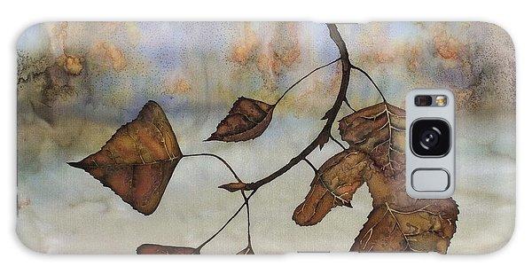 Autumn Leaves Galaxy Case by Carolyn Doe