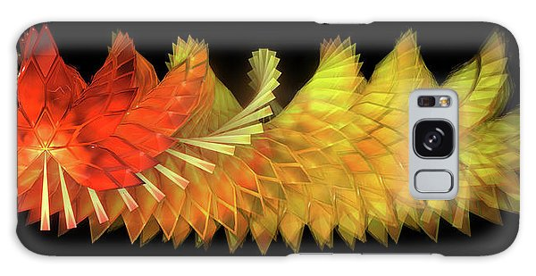 Galaxy Case - Autumn Leaves - Composition 2.2 by Jules Gompertz