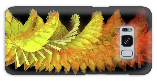 Galaxy Case - Autumn Leaves - Composition 2.3 by Jules Gompertz
