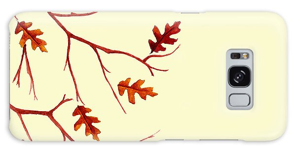 Autumn Leaves Galaxy Case by Dawnstarstudios
