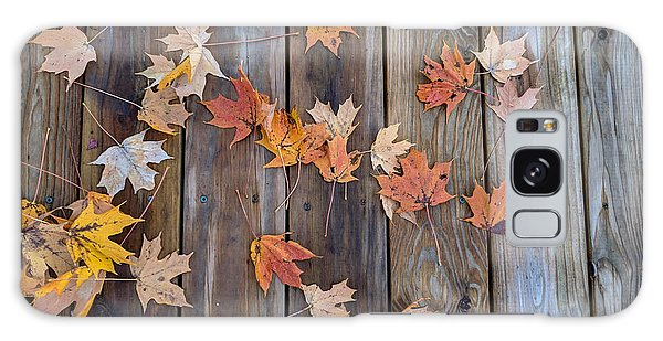 Autumn Leaves Fall Galaxy Case