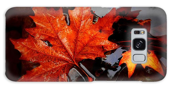 Autumn Leaves In Tumut Galaxy Case by Lexa Harpell