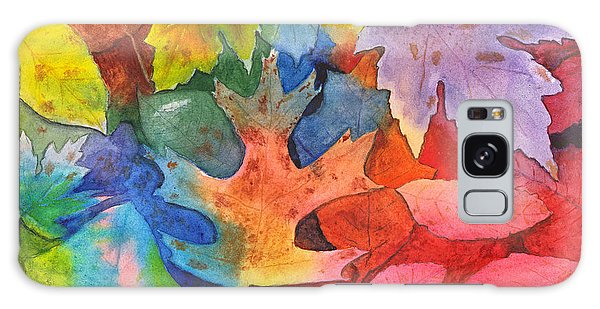 Autumn Leaves Recycled Galaxy Case
