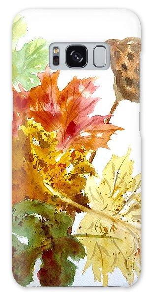 Autumn Leaves Still Life Galaxy Case