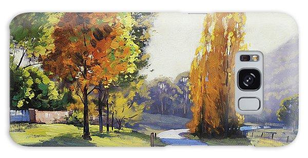Maple Leaf Art Galaxy Case - Autumn Light Tarana by Graham Gercken