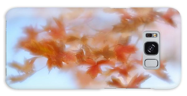 Autumn Maple Leaves Soft Galaxy Case by Diane Alexander