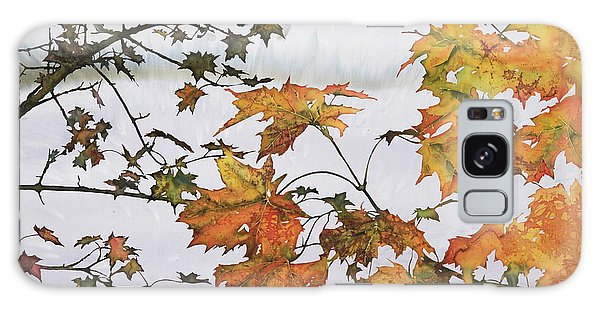 Autumn Maples Galaxy Case by Carolyn Doe