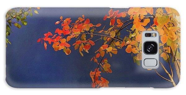Autumn Matinee Galaxy Case by Theresa Tahara