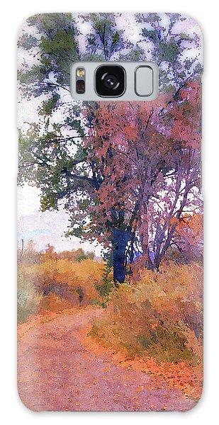Autumn Melancholy Galaxy Case
