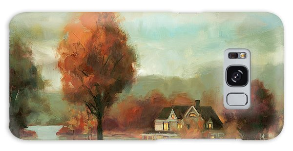 Geese Galaxy S8 Case - Autumn Memories by Steve Henderson