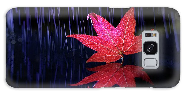 Autumn Message Galaxy Case