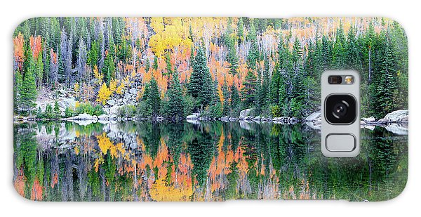 Autumn Mirror At Bear Lake Galaxy Case