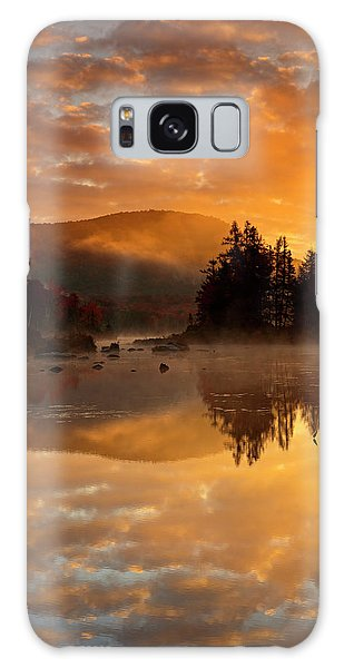Autumn Mist Galaxy Case