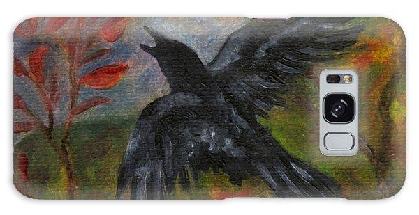 Autumn Moon Raven Galaxy Case