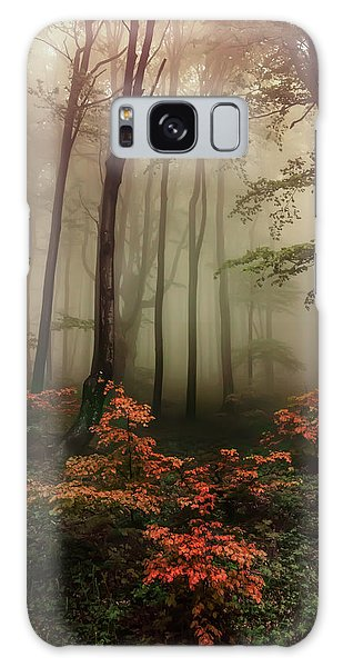 Autumn Mornin In Forgotten Forest Galaxy Case