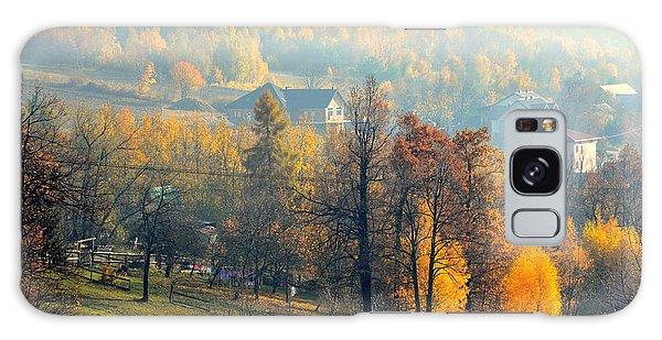 Autumn Morning Galaxy Case by Henryk Gorecki